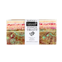 "Timeless Treasures Tonga Batik Treat 10"" Square Pack Posey"