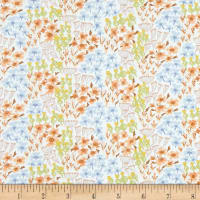 Dear Stella Botany Grouped Floral White