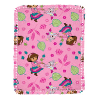 Nickelodeon Dora Allover Microfiber Throw Kit
