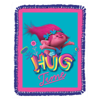 Dreamworks Trolls Hug Time Micro Fleece Throw Kit