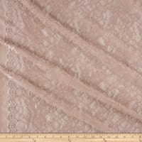 Telio Lolita Nylon Stretch Corded Lace Blush