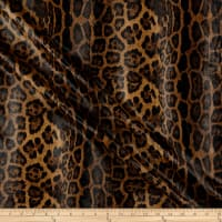 Telio Dolce Faux Leather Animal Print Brown