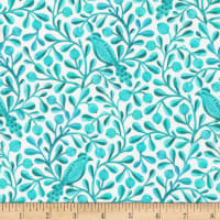 Cloud9 Fabrics Organic Birds & Branches Felipe