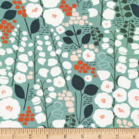 Cloud9 Fabrics Organic Stockbridge Stockbridge Green