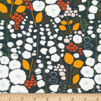 Cloud9 Fabrics Organic Stockbridge Stockbridge Black