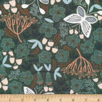 Cloud9 Fabrics Organic Stockbridge Alice Holt Green