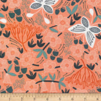Cloud9 Fabrics Organic Stockbridge Alice Holt White
