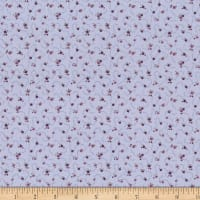 Stoffabric Denmark Quilters Basic Dusty Rosettes Lilac
