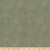 Stoffabric Denmark Quilters Basic Dusty Dots Sage