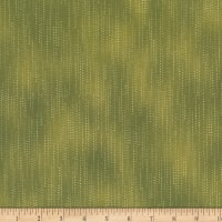 Stoffabric Denmark Quilters Basic Dusty Scattered Dots Green