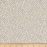 Stoffabric Denmark Quilters Basic Memory Small Dot Ivory