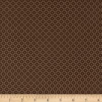Stoffabric Denmark Quilters Basic Memory Quadrafoil Taupe