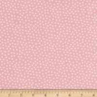 Stoffabric Denmark Quilters Basic Memory Tiny Dots Pink