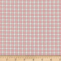 Stoffabric Denmark Nordso Plaid Light Pink