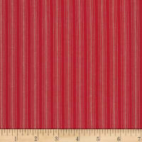 Stoffabric Denmark Nordso Stripe Red