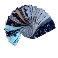 Stoffabric Denmark Season Living 20 Assorted Color 2.5 Inch Strips
