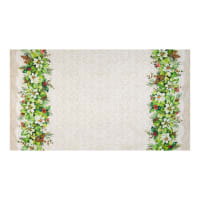 Northcott Deck the Halls Full Width Double Border Cream