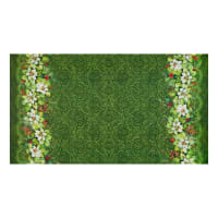 Northcott Deck the Halls Full Width Double Border Green
