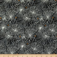 Northcott Raven's Claw Spider Web Black