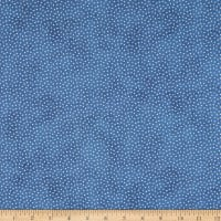 Northcott Bearly Xmas Random Dot Dark Blue