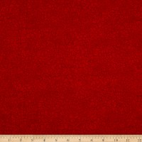Northcott Cardinal Woods Flannel Crackle Red