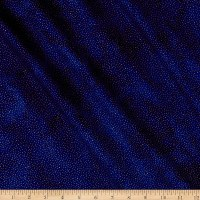 Northcott Angels Above Metallic Speckle Royal