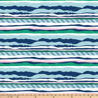 FIGO Salt Wind Bay Stripe Navy/Multi