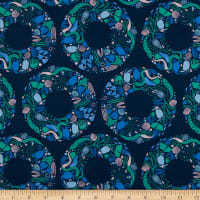 FIGO Salt Wind Sea Wreath Navy/Multi