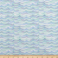 FIGO Salt Wind Waves Blue/Multi