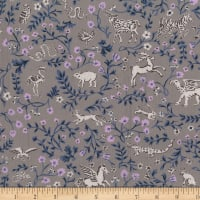 FIGO Promenade Mystical Animals Taupe