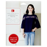 Liesl + Co. Afternoon Tea Blouse Sewing Pattern