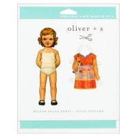 Oliver + S Roller Skate Dress + Tunic Sewing Pattern (6M-4)
