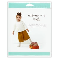 Oliver + S Lunch Box Tee + Culottes  Sewing Pattern (6M-4)