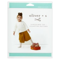 Oliver + S Lunch Box Tee + Culottes  Sewing Pattern (5-12)