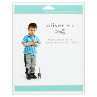 Oliver + S Parachute Polo + Sweatpants Sewing Pattern (6M-4)