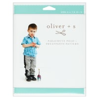 Oliver + S Parachute Polo + Sweatpants Sewing Pattern (5-12)