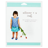 Oliver + S Butterfly Blouse + Skirt Sewing Pattern (6M-4)