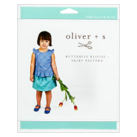 Oliver + S Butterfly Blouse + Skirt Sewing Pattern (5-12)