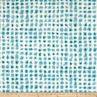 Swavelle Indoor/Outdoor Alauda Teal