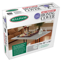Sullivans Polycoated Heat Resistant Ironing Cover