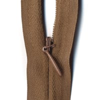 "Sullivans 1"" Invisible Make-A-Zipper Brown  (2 Pack)"