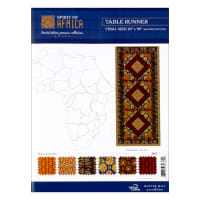 Baxter Mill Spirit Of Africa Table Runner Kit Multi