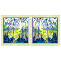 "P&B Textiles Naturesong 21"" Panel Green"