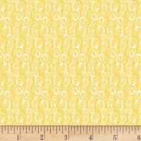 P&B Textiles Ocean Buddies Circles Yellow