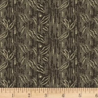 Washington Street Studio Classic Black & Tan Palm Texture Black