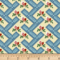 Washington Street Studio Dargate Jellies Geo Floral Blue