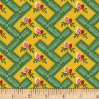 Washington Street Studio Dargate Jellies Geo Floral Green