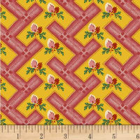 Washington Street Studio Dargate Jellies Geo Floral Red