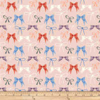 Birch Organic Pirouette Bows Blush
