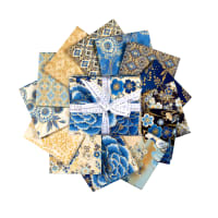 Kaufman Fat Quarter Bundles Imperial Collection Indigo 13 Pcs
